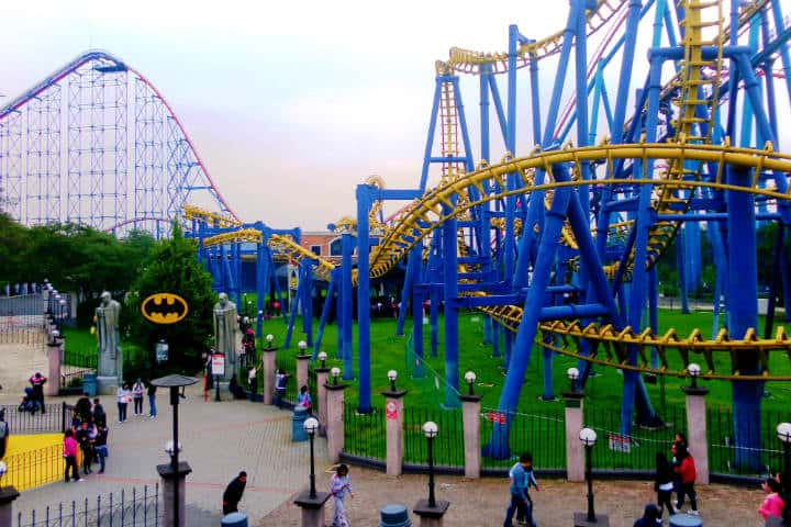 Batman es una de las grandes atracciones en Six Flags Foto cezzie901