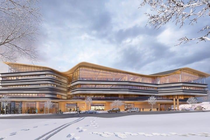 Biblioteca pública de Ottawa Foto Diamond Schmitt Architects
