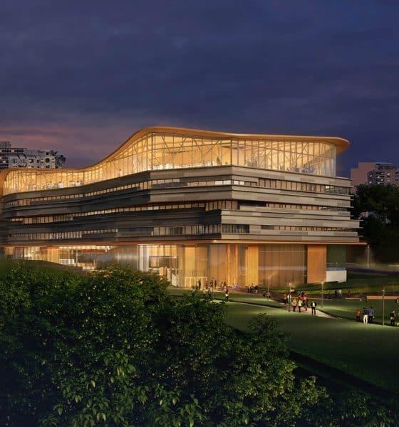 Biblioteca pública de Ottawa portada Foto Diamond Schmitt Architects