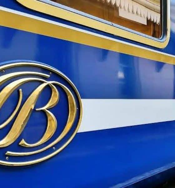 Blue Train Foto Archivo