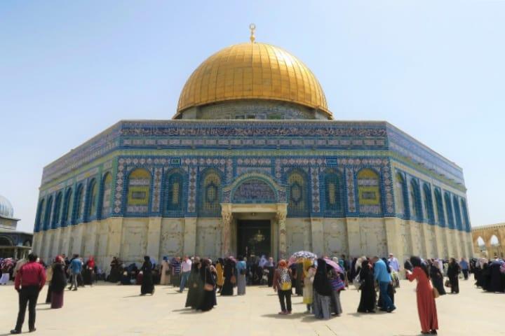 Cúpula de la Roca, un lugar para visitar en Jerusalén Foto Pixabay
