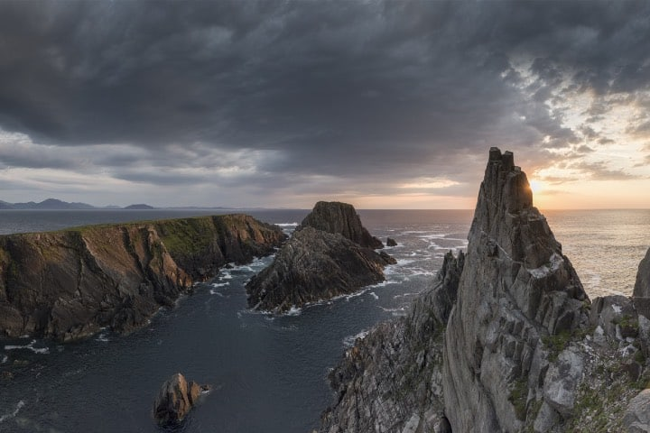Cabos del Norte, inicio de la Ruta Costera del Atlántico Foto Ireland.com