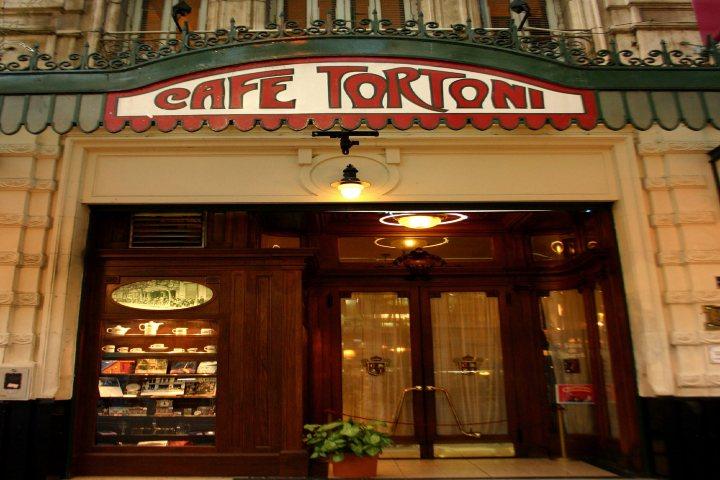 Café Tortoni. Foto Vivencias del Viajero.
