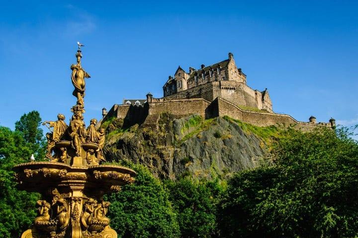 Castillo de Edimburgo Foto Jesús