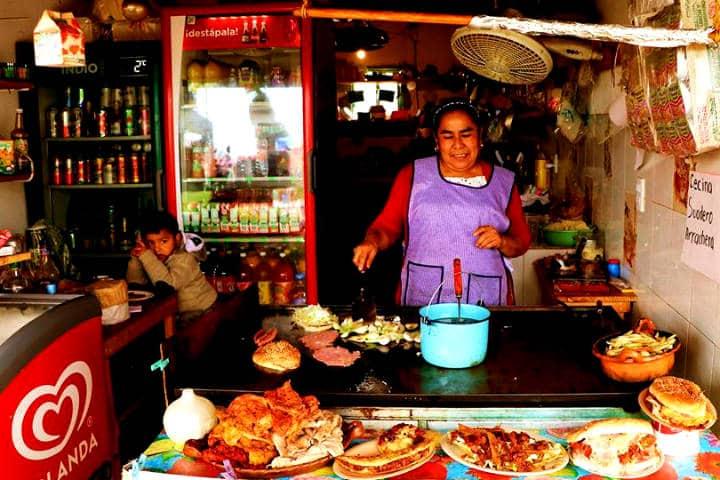 Puedes disfrutar de muchos alimentos en el parque Foto: Parque Acuatico Santa Ana