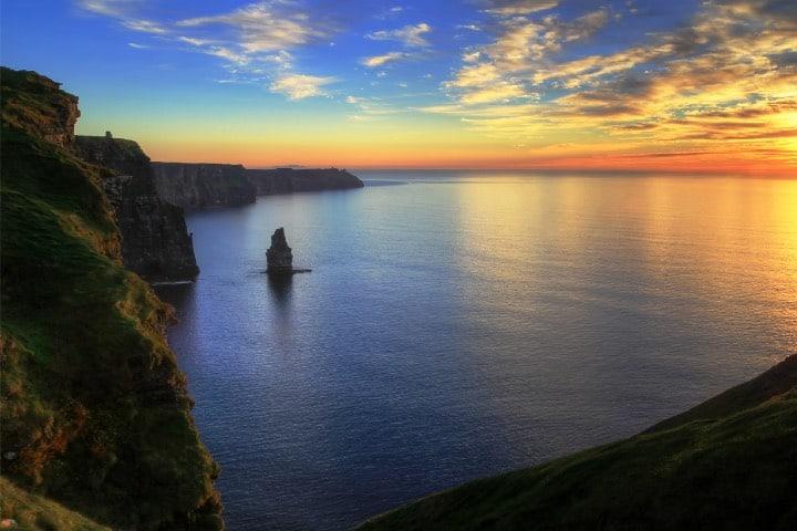 Costa de los Acantilados. Foto: Ireland.com