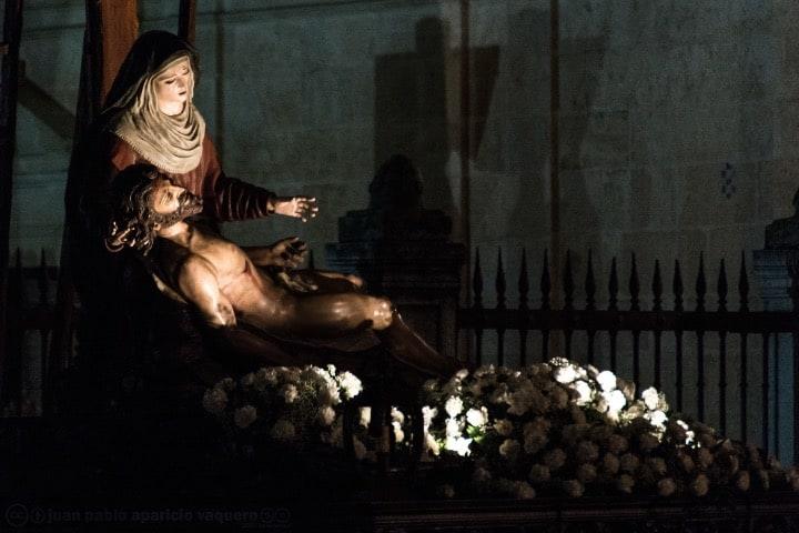 Cristo Yaciente en Zamora Foto Juan Pablo Aparicio