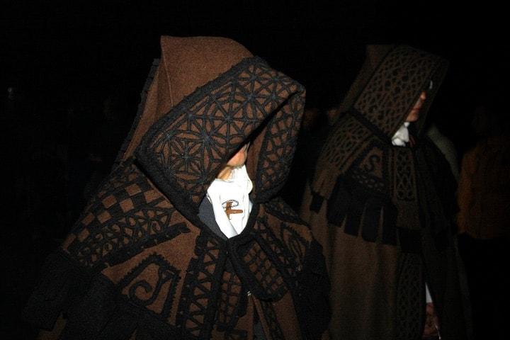 Desfile de Miércoles Santo en Zamora, Semana Santa en España Foto Garcíamartín