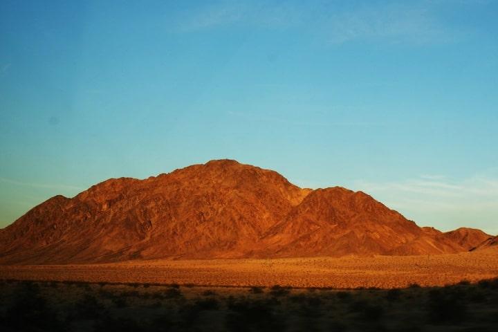 Desierto de Nevada, sede del Área 51, uno de los destinos que nunca podrás visitar Foto Aldemar Santamaría