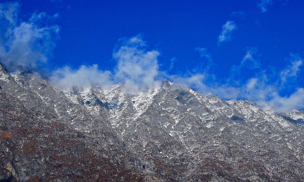 Dhauladhar, picos del Himalaya Foto Rajesh