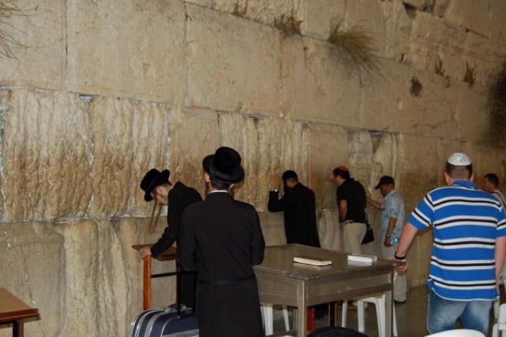 El Muro de las Lamentaciones en Jerusalén Foto Juan Manuel Herrera