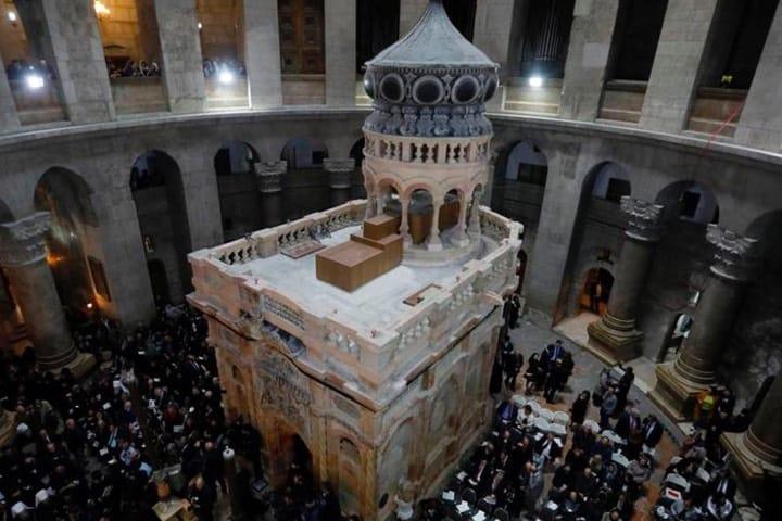 El Santo Sepulcro, lugares para visitar en Jerusalén Foto El Heraldo