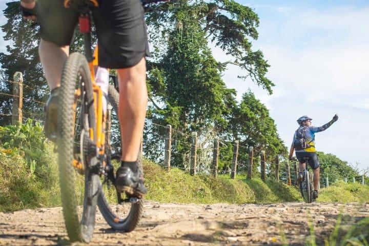 En el parque puedes realizar ciclismo Foto The Forge_ Lemont Quarries