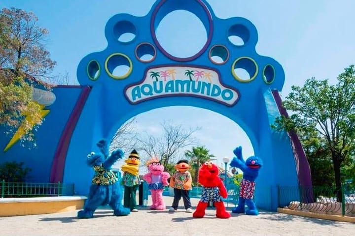 Es una de las atracciones del Parque Plaza Sésamo en Monterrey Foto Archivo