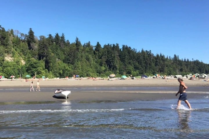 Esta playa gratuita en Vancouver es un gran sitio Foto Archivo