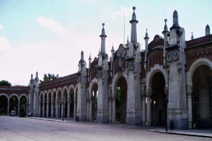 Cementerio en Madrid, parte de Ruta de cementerios en España. Foto Por conocer