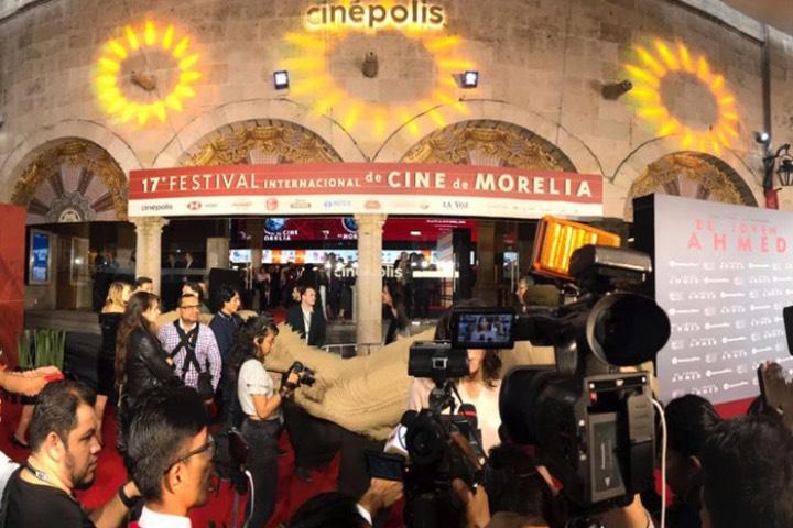 Festival Internacional de Cine de Morelia Foto La Voz de Michoacán