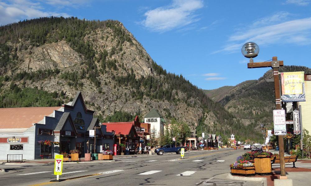 Frisco, destino de montaña en Estados Unidos Foto Clint