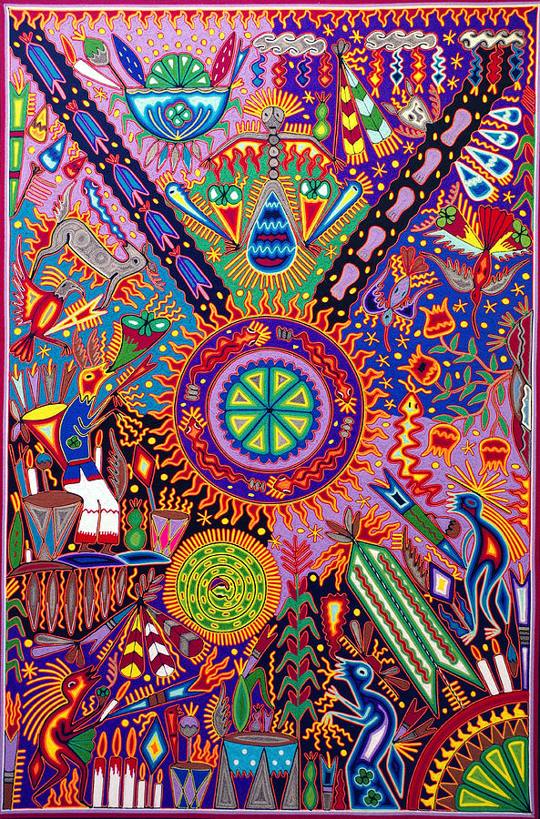 Huichol Shamanic Ceremony by Andrew Osta