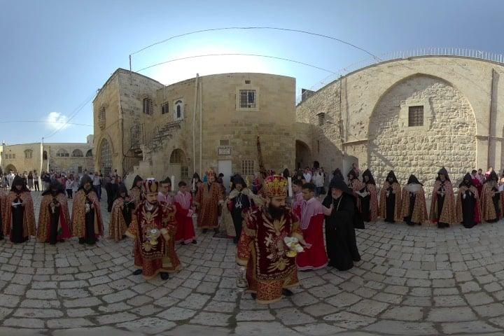 Jerusalén en realidad virtual Foto The Holy City