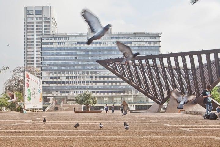 La ciudad de Tel Aviv es moderna