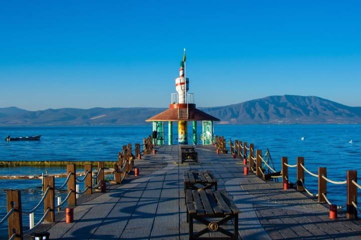 Lago de Chapala en Guadalajara Foto Archivo