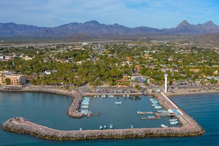 Loreto, Baja California Sur, Pueblo Mágico Foto Archivo