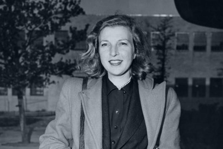 Marta Gellhorn. escritora del libro Foto: Archivo