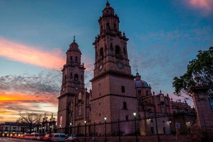 Morelia, capital de Michoacán Foto Archivo