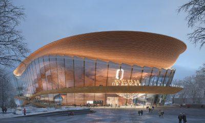Nuevo teatro en Rusia Foto wHY Architecture