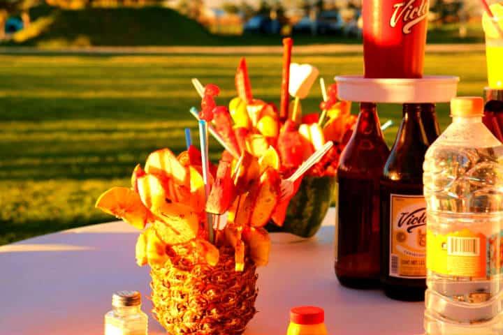 ¡A disfrutar de ricas bebidas en el parque! Foto Parque Acuatico Santa Ana