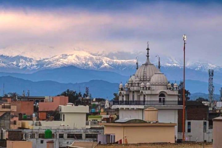Picos del Himalaya visibles desde la Segunda Guerra Mundial Foto Twitter