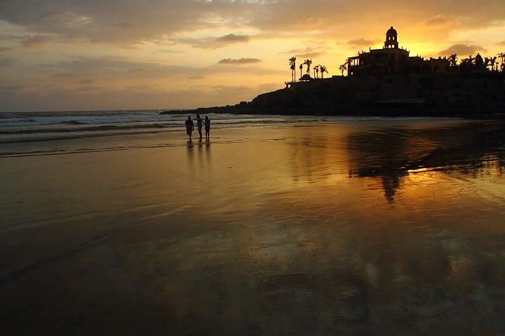Playa Cerritos. Foto A. Alfaro.