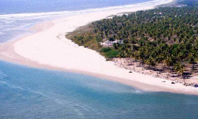 Playa Espíritu Sinaloa Foto Archivo