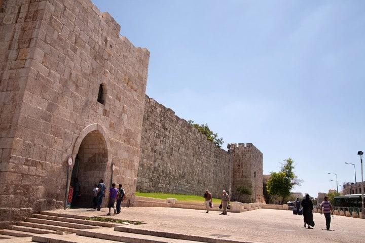 Puerta de Herodes, un lugar para visitar en Jerusalén Foto Turismo Israel