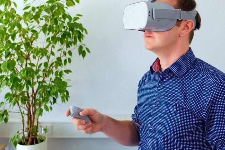 Realidad virtual. Foto: dlohner