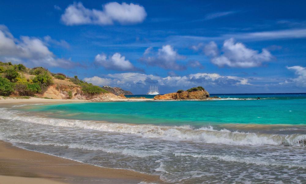 Rendezvous Beach Foto Ron McManus