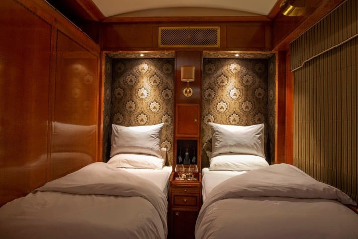 Suite doble en tren de lujo Foto The Blue Train - South Africa Facebook