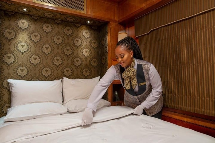 Suites en tren de lujo Foto The Blue Train - South Africa Facebook