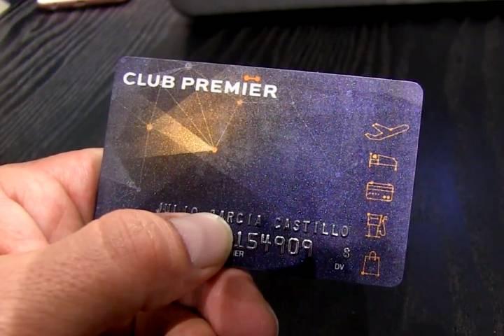 Tarjeta de Puntos Club Premier