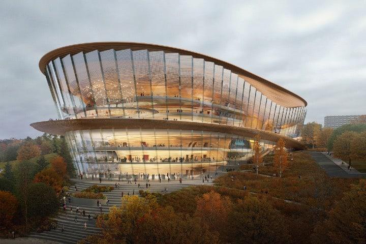 Teatro dedicado a la ópera y el ballet en Rusia Foto wHY Architecture