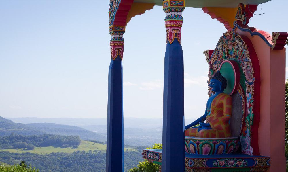 Templo budista Foto: Marcel Scaranello