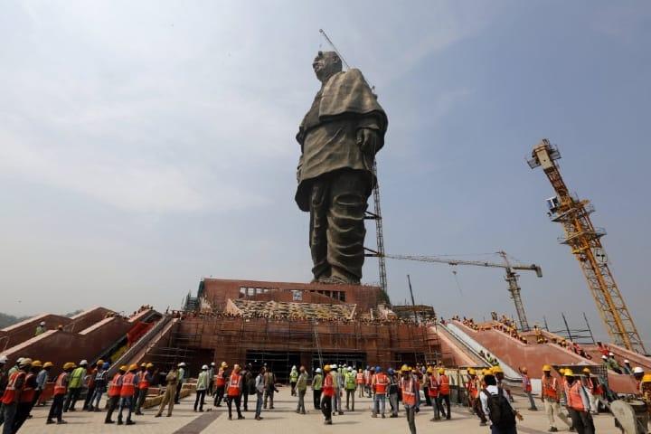La estatua más grande del mundo. Foto: Ajit Solanki
