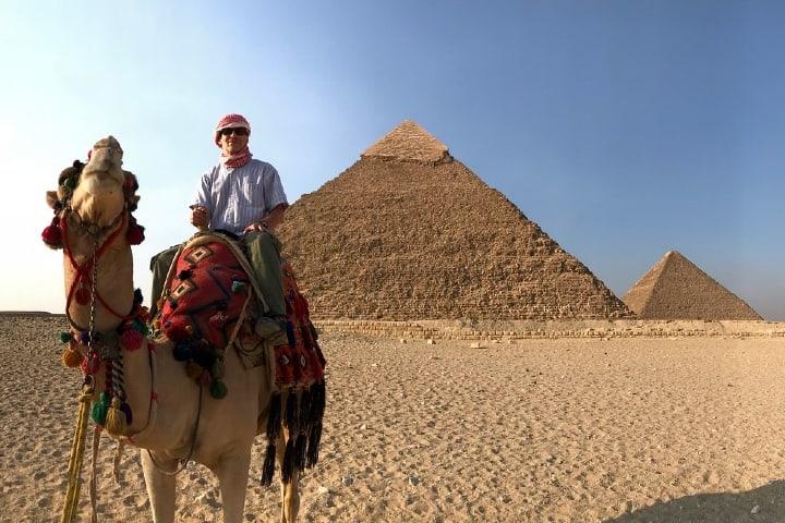 Turismo en Egipto Foto Elias Rovielo