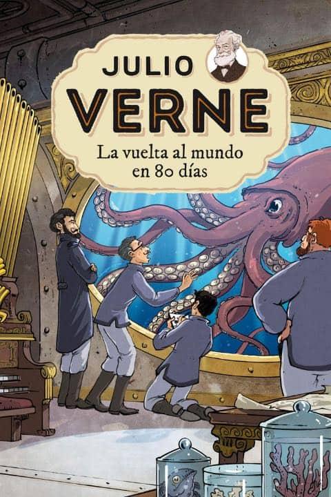 Uno de los libros más famosos sobre viajes en adaptación para niños viajeros Foto Archvo