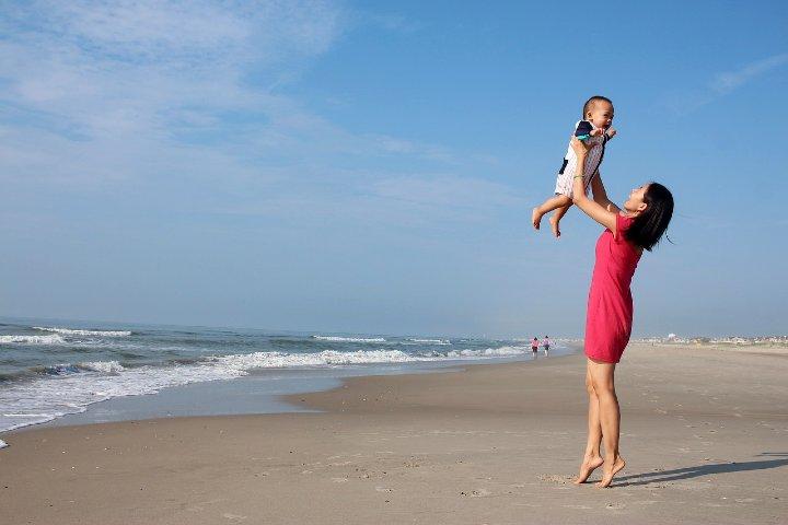 Viaja a Puerto Ángel con mamá. Foto Pixabay