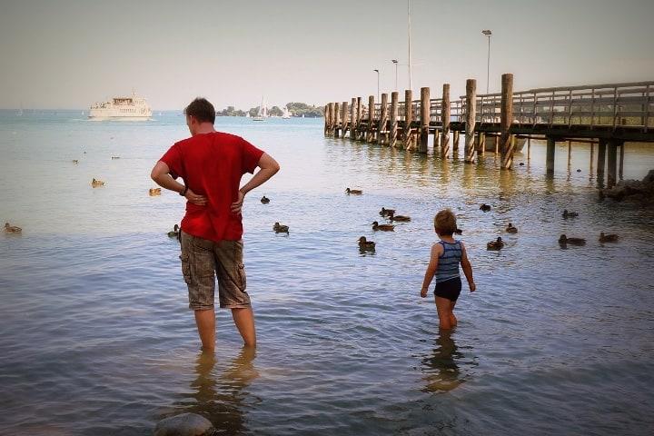 Viajar con papá fortalece la relación y crea confianza Foto Cristiana Santos