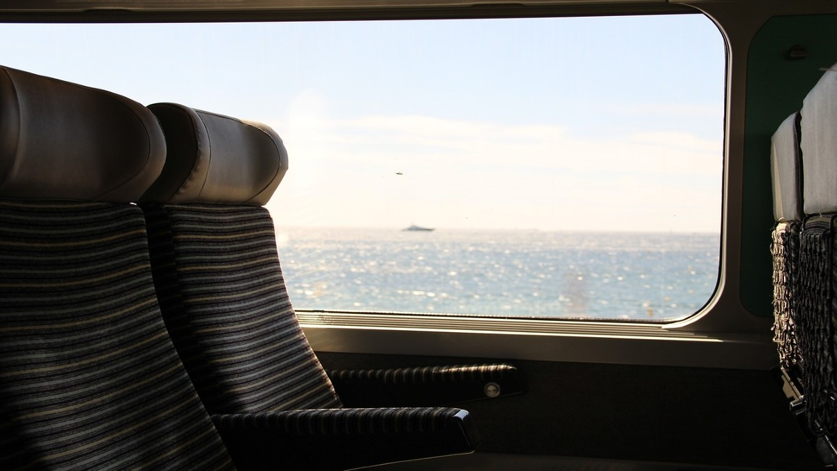 Viaje en tren por EUA. Portada