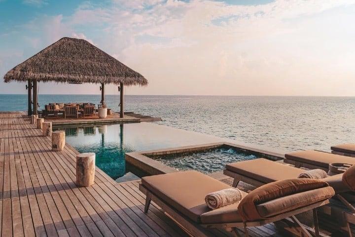 Vistas del paraíso de Vakkaru Foto Vakkaru Maldives Facebook