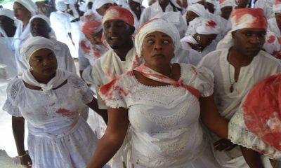 Vudú, religión de Haití Foto El País